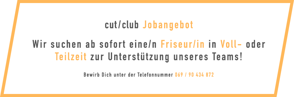 CutClub_Anzeige_Friseur_in_gesucht